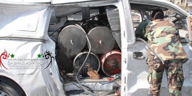 243 nicht explodiertes Auto Mazraa 2-2013