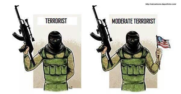 Moderater Terrorist