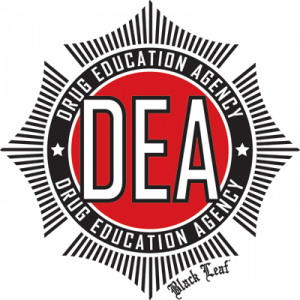 Logo der Drug Education Agency (DEA)