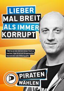 Emanuel Kotzian Wahlplakat