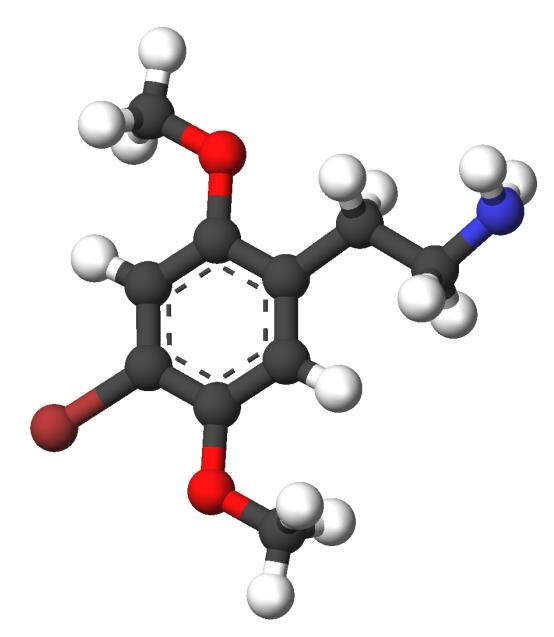 Strukturformel 2C-B