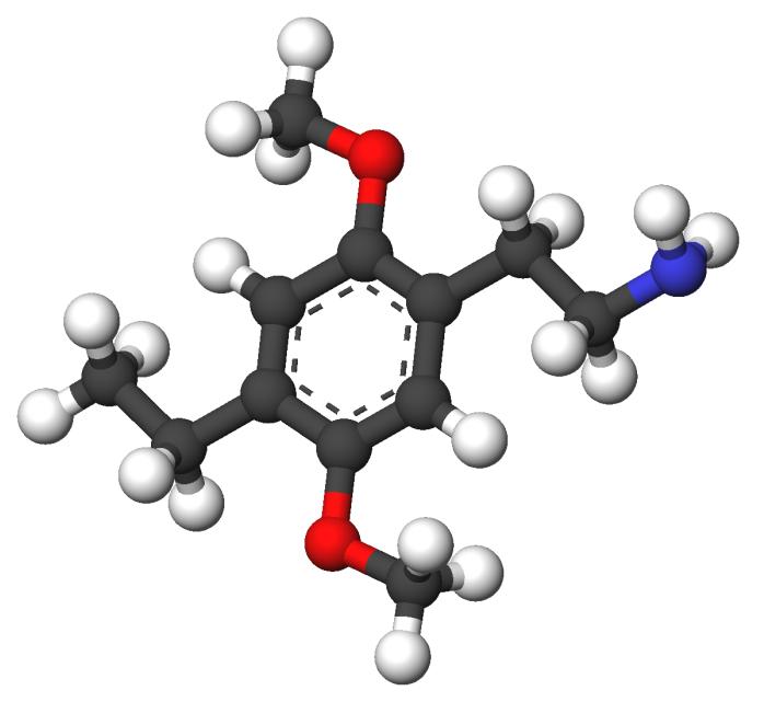 Strukturformel 2C-E