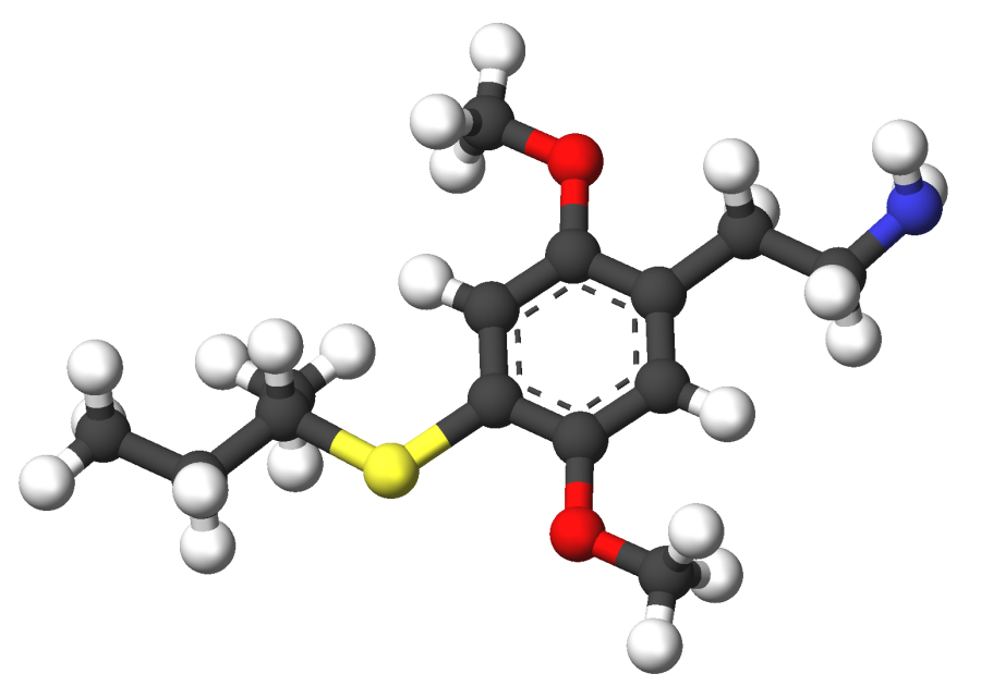 Strukturformel 2C-T-17