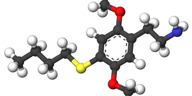 Strukturformel 2C-T-9