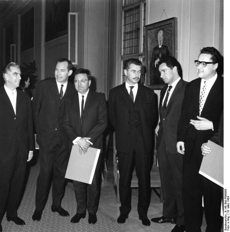 Verleihung des Berliner Kunstpreises 1964