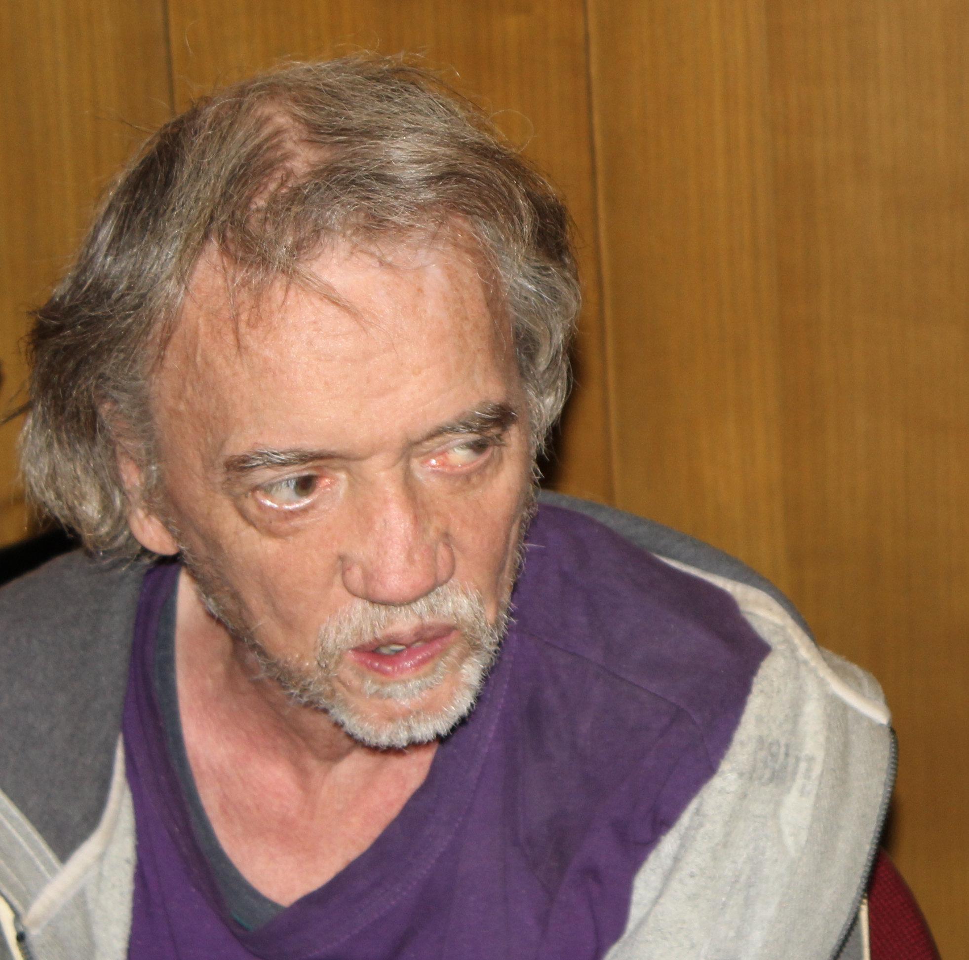 Joachim Eul am 10. September 2014 bei einer Anhörung des Bezirkes Friedrichshain-Kreuzberg in Berlin zu Coffeeshops (Foto: Maximilian Plenert)