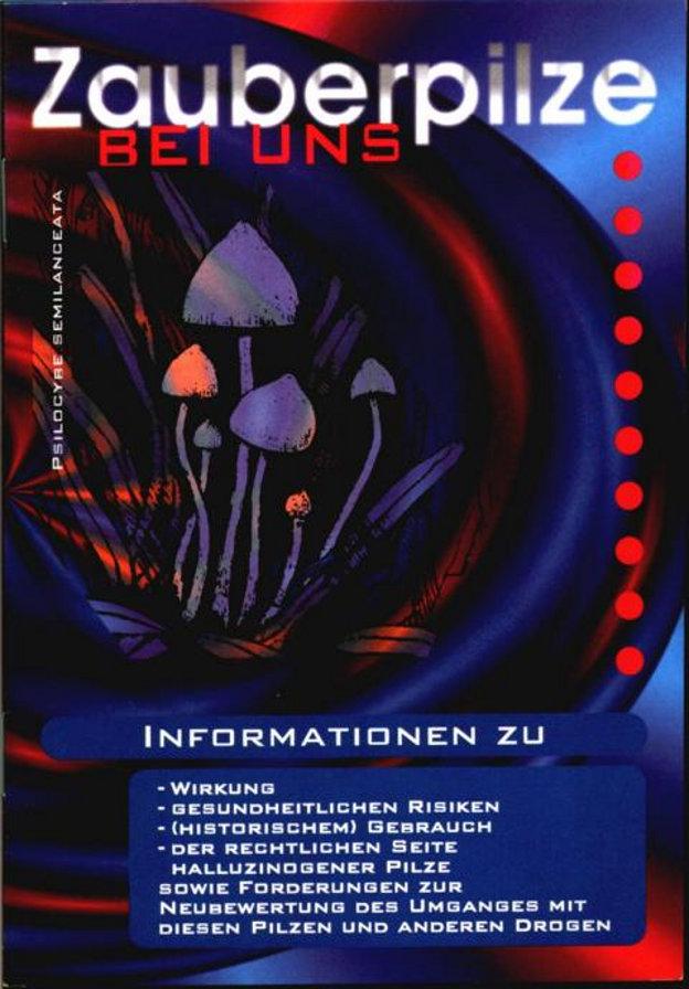"""Die Broschüre """"Zauberpilze bei uns"""" verfasste Joachim Eul zusammen mit Tibor Harrach. Die Broschüre wurde von der Landesarbeitsgemeinschaft Drogenpolitik (LAG Drogenpolitik) der Grünen Berlin produziert und von der Bundespartei herausgegeben. Insgesamt erschienen 7 Auflagen (120.000 Exemplare) dieser Broschüre."""