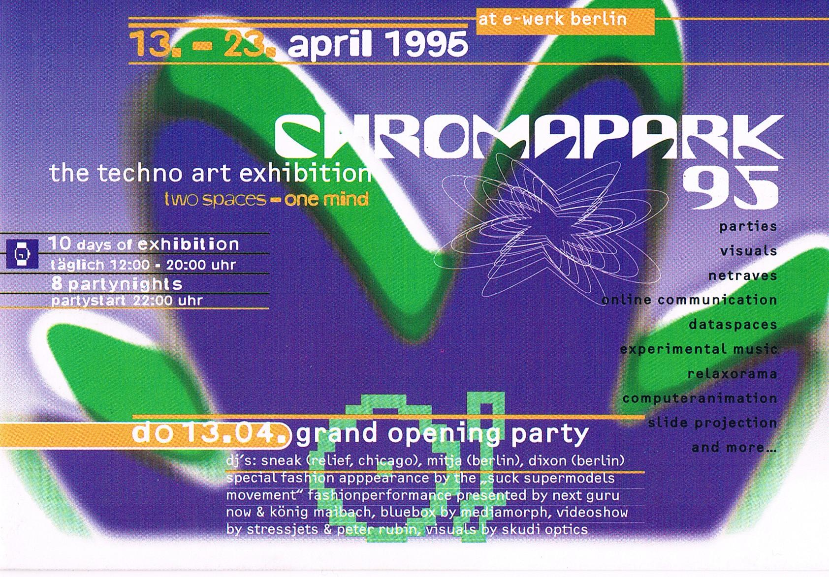 Flyer Chromapark