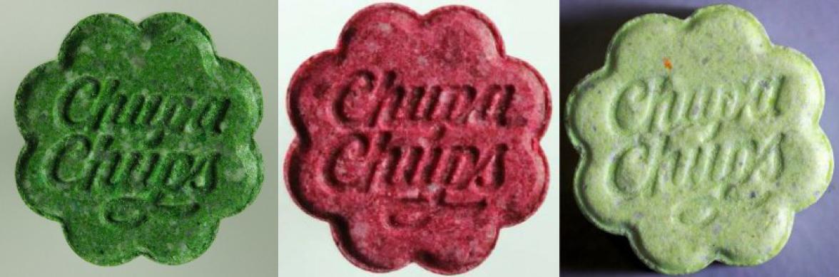 Chupa Chups Ecstasy Pillen