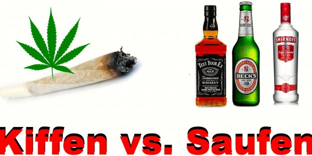 Kiffen versus Alkohol, Quelle: Blog Weed Austria