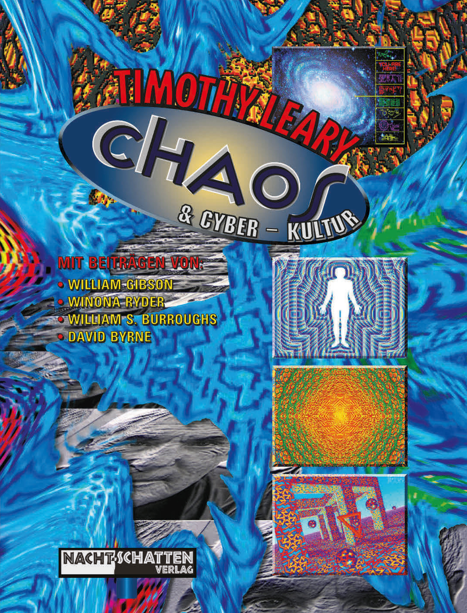 "Buchtitel ""Chaos & Cyber-Kultur"" von Timothy Leary"