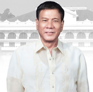 Portrait des Präsidenten Rodrigo R. Duterte, Quelle: Staff of the Presidential Communications Operations Office and the Office of the President of the Philippines