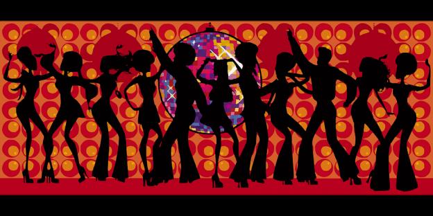Tanzende Menschen, Bild: Gemeinfrei