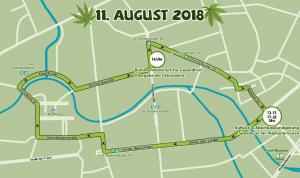Route der Hanfparade 2018
