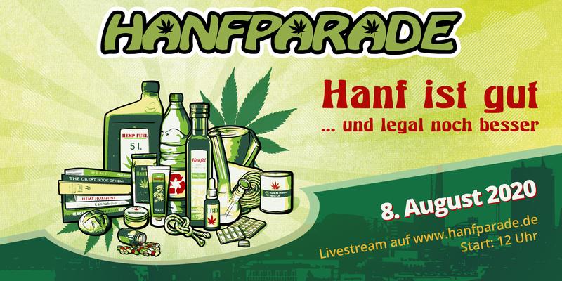 Logo Hanfparade 2020