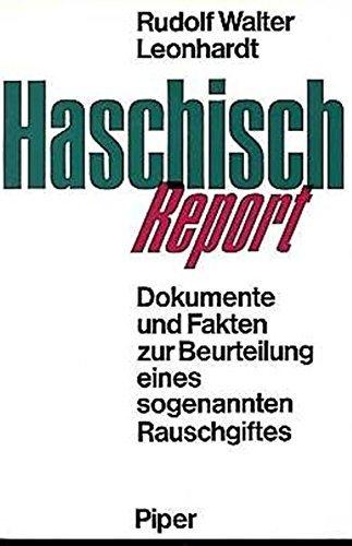 Cover des Buches Haschisch Report