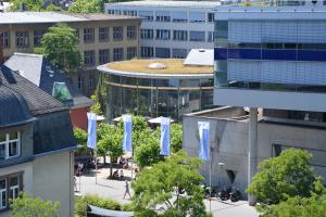 Campus der Frankfurt University of Applied Sciences (Frankfurt UAS), Foto: Kevin Rupp (UAS)