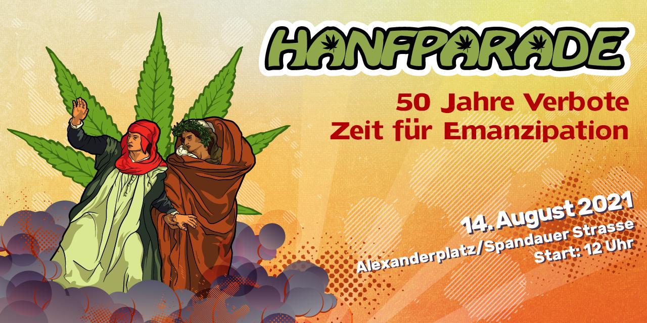 Hanfparade Banner 2021