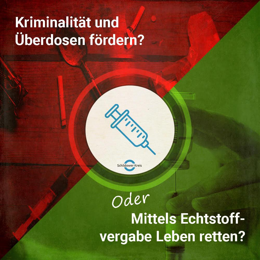 Flyer aus der Social-Media-Kampagne des Schildower Kreises