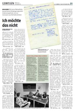 Seite aus der Sonntaz vom 8. Januar