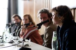 Julia Seeliger (rechts) von taz.de kennt sich mit Shitstorms aus. Foto: Fiona Krakenbürger