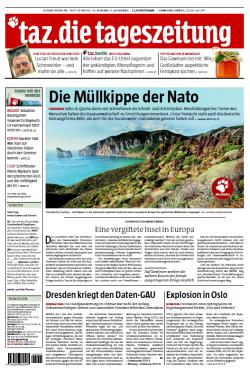 Bezahlt aus dem Recherchefonds: Titelgeschichte über Uran-Verschmutzung auf Sardinien