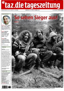 taz-Titelseite vom 30. Juni 2011