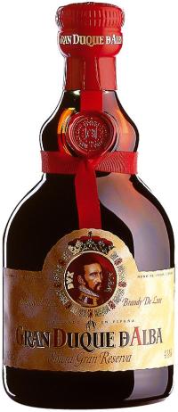 Der Preis: Eine Flasche Brandy
