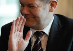 Olaf Scholz, Hamburger SPD-Bürgermeister. Foto: David Hecker/dapd