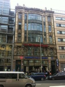 Rund 100 Jahre alt: taz-Haupthaus in der Rudi-Dutschke-Straße