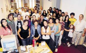 "Redaktion der ""La diaria"""