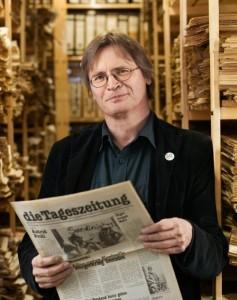 Karl-Heinz Ruch, Verlagsgeschäftsführer der taz. Foto: Anja Weber