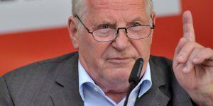 Wahlkampfauftakt Linke in Sachsen - Bisky