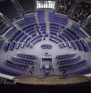 Die Union hätte mit nur fünf Abgeordneten mehr die absolute Mehrheit. Foto: Bundestag