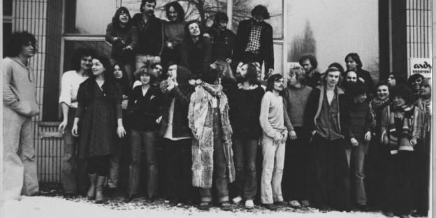 taz-Gründer Ende der Siebzigerjahre