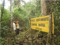 Indigenes Territorium, Quelle: La Prensa