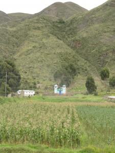 Ein Bauernhof in den Anden auf knapp 4000 Metern