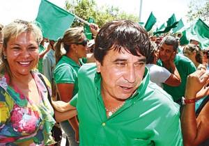 Wahlsieger Carmelo Lens Quelle: El Deber