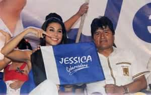 Jessica Jordan, die Kandidatin des Praesidenten   Quelle: Cambio