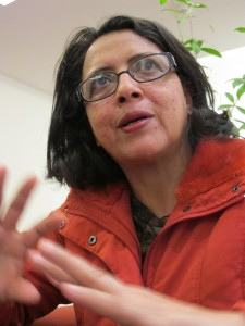 Dina Meza - Journalistin und Menschenrechtsaktivistin aus Tegucigalpa/Honduras