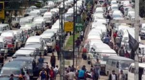 Transportstreik   Quelle:Los Tiempos
