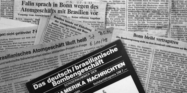 Schon lange Thema: der deutsch-brasilianische Atomvertrag aus dem Jahre 1975. (Photo: Santiago Engelhardt)