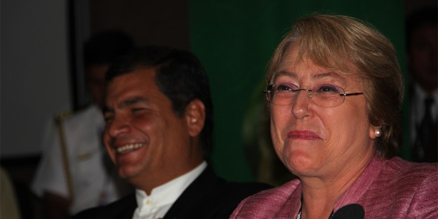 Bachelet Correa 2012 Foto Dilger