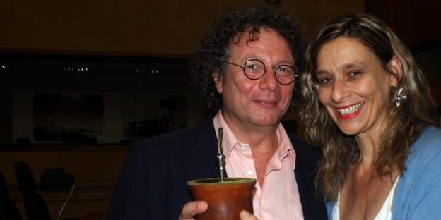 Gesinnungsgenossen: Ingo Schulze und Sofia Cavedon