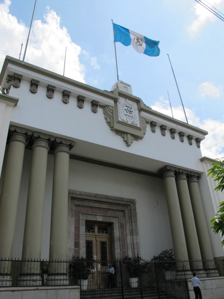 Die Justiz funktioniert nicht in Guatemala - 70 Prozent der Straftaten werden nicht geahndet.....