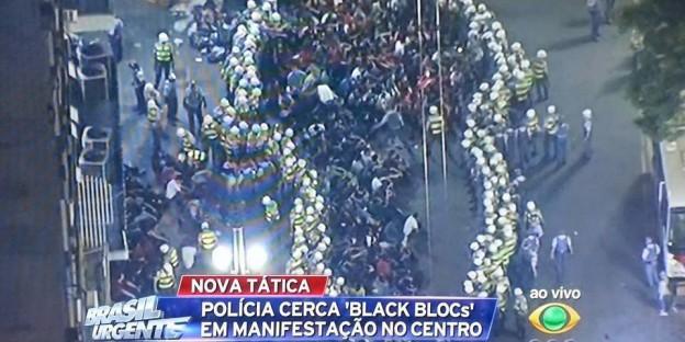Wir gucken brasilianisches Fernsehen.