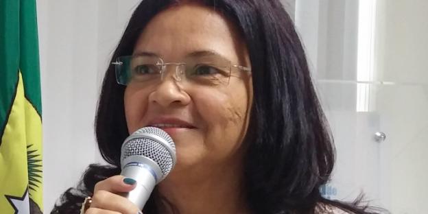 Rosângela Alves de Oliveira vom Brasilianischen Forum für Solidarische Ökonomie. Photo: privat