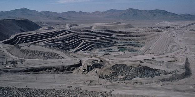 Chuquicamata-Mine. Foto Reinhard Jahn, Mannheim (CC BY-SA2.0)