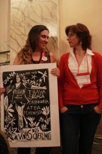 Florencia Puente und Elisangela Soldatelli