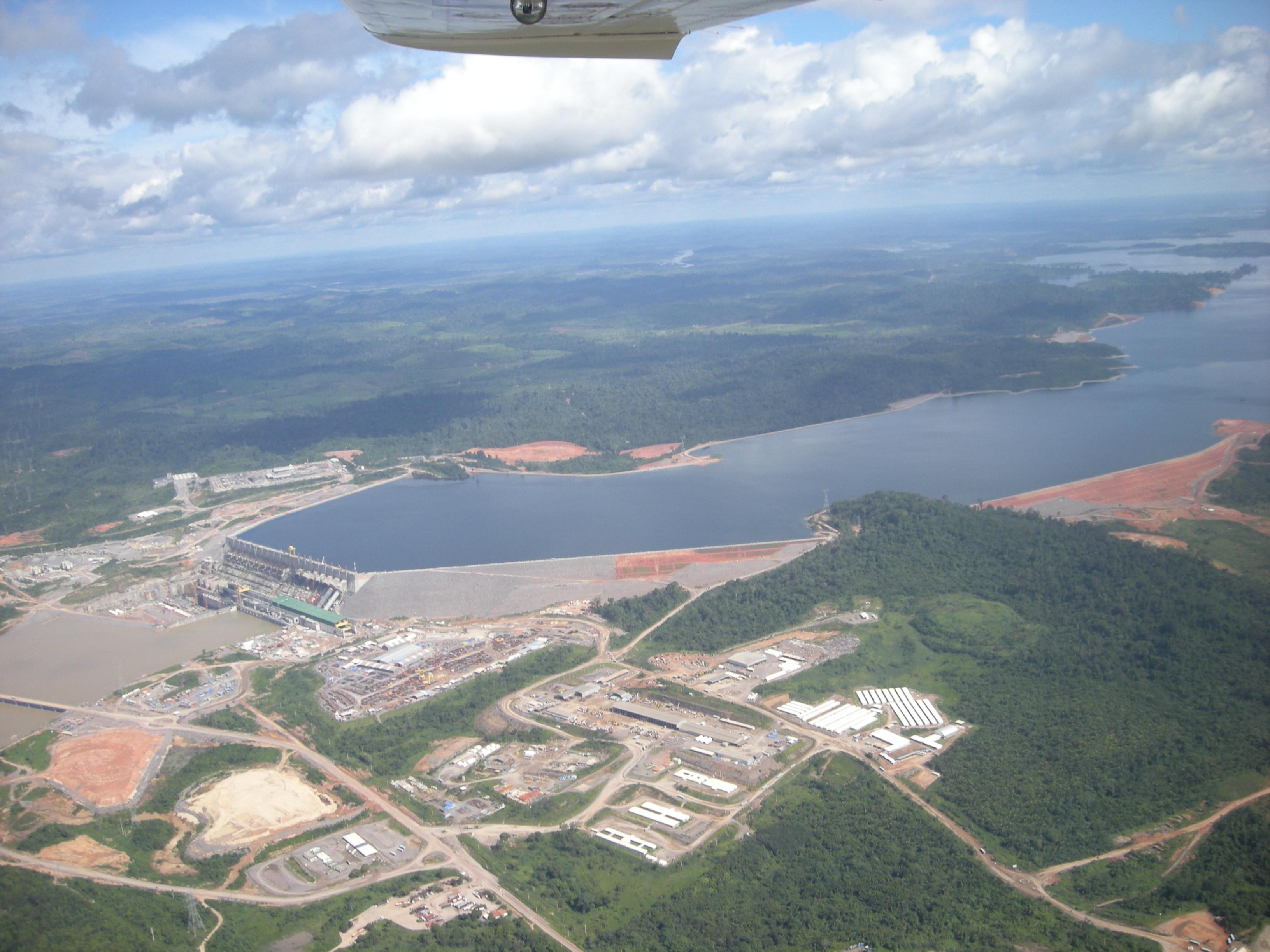 Staudamm Belo Monte. Foto: christianrussau